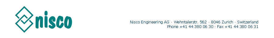 Nisco Engineering AG